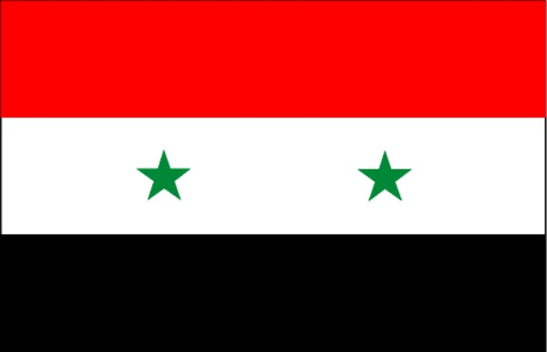 Flag of syrian arab republic