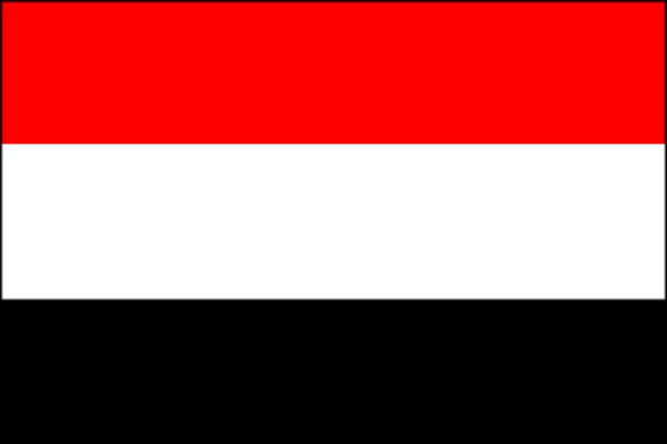 yemen map flag. Flag of Republic of Yemen
