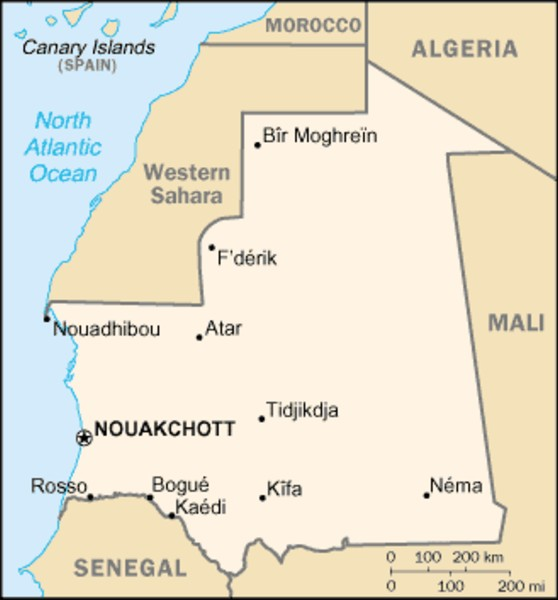 An introduction to the culture and geography of the country mauritania